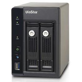 NVR Viostor 2-bahías y hasta 4-canales VS-2204-PRO+