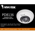 Pan/Tilt Dome Network Camera PD8136