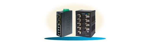 Conmutador Industrial No Gestionado Ethernet